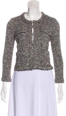 Etoile Isabel Marant Knit Collarless Knit Jacket