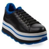 Prada Leather & Neoprene Platform Sneakers