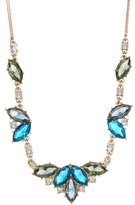 Carolee Marquise Cluster Frontal Necklace