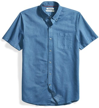 Goodthreads Standard-fit Short-Sleeve Solid Oxford Shirt W/Pocket