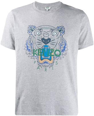 Kenzo Tiger print short-sleeve T-shirt