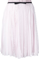 Giambattista Valli vertical ruffle skirt - women - Silk/Cotton/Viscose - 44