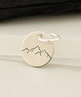 Kurt Geiger Silver Silver Women's Pendants - Sterling Silver Mini Mountain Disk Pendant