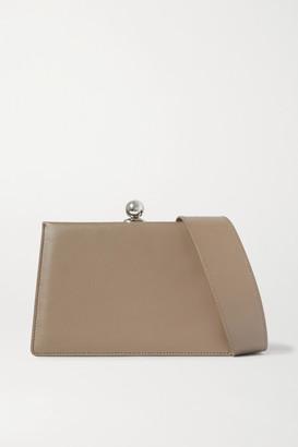 Ratio et Motus - Mini Twin Leather Shoulder Bag - Dark gray