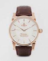 Vivienne Westwood Leather Strap Watch