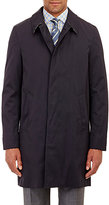 Aquascutum London Men's Slim Broadgate Raincoat-NAVY