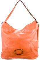 Roger Vivier Piped Leather Hobo