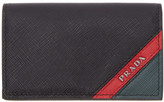 Prada Black Multi Compartment Wallet