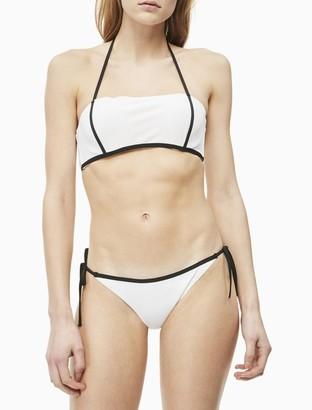 Calvin Klein Core Neo Plus String Tie Bikini Bottom