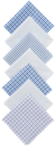 John Lewis Designer Handkerchiefs, Pack Of 7, Multi