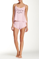 Wildfox Couture Dressed Up In Love Cami 2-Piece Sleep Set