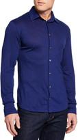 Il Borgo For Neiman Marcus Men's Long-Sleeve Sport Shirt