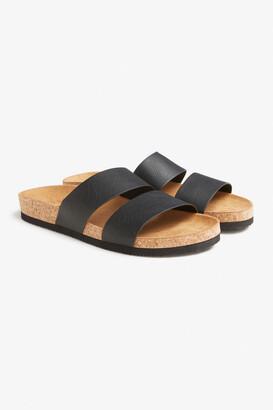 Monki Flat cork sandals