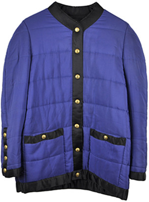 Chanel Blue Synthetic Coats
