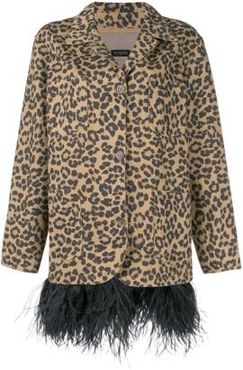 Simonetta Ravizza Leopard Print Blazer