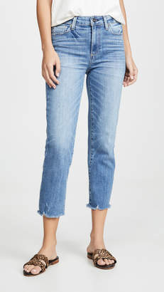Paige Hoxton Straight Crop Jeans