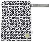 Itzy Ritzy® Travel HappensTM Medium Sealed Wet Bag in XOXO Black/White