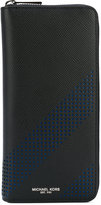 Michael Kors perforated wallet - men - Leather - One Size