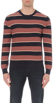 Ps By Paul Smith Stripe Print Cotton Jumper