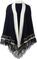 Antonia Zander colour block large scarf - women - Cashmere/Cotton/Polypropylene - One Size