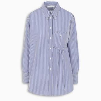 Chloé Blue striped shirt