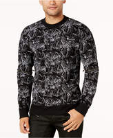 GUESS Men's Skull & Pin Sweater