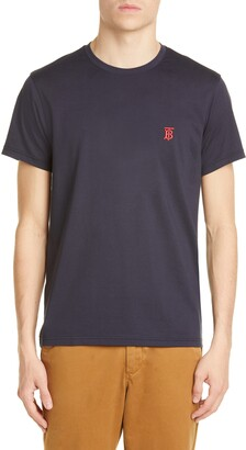 Burberry Parker Embroidered Logo T-Shirt