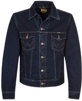 Wrangler Western Denim Denim Jacket Blue Black