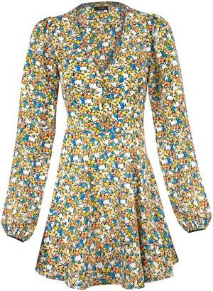 AFRM Elise Floral Long Sleeve Minidress