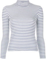 Golden Goose Deluxe Brand striped turtleneck top - women - Cotton/Polyester - XXS