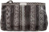 Jimmy Choo Snakeskin Clutch