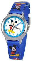 Disney Kids Mickey Mouse Time Teacher StainlessWatch
