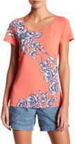 Tommy Bahama Short Sleeve Floral Print Tee