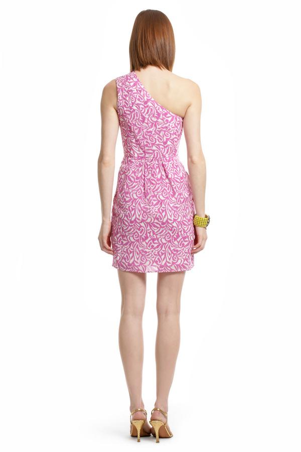 Shoshanna Ikat Swirl Dress