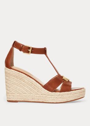 Ralph Lauren Hale Leather Sandal