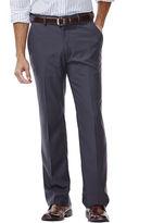 Haggar Straight-Fit Flat-Front Gabardine Dress Pants