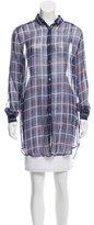 Acne Studios Silk Button-Up Tunic