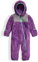 The North Face Oso Fleece Bunting, Purple, Size 3-24 Months