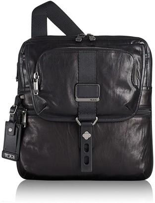 Tumi Arnold Zip Flap Leather Crossbody Bag
