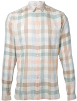 Oliver Spencer checked shirt