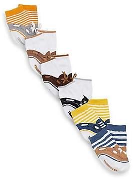 Trumpette Baby's Six-Pair Noah Sock Set