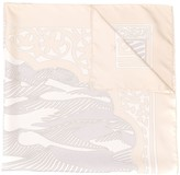 Hermes 2000's pre-owned abstract print scarf