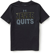 Under Armour Big Boys 8-20 Never Quits Short-Sleeve Tee