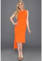 Wesc Caitlin Dress (Red Orange) - Apparel