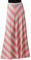 Lauren Conrad chevron maxi skirt