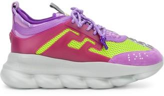 Versace Chunky Paneled Sneakers