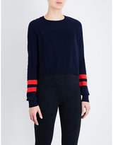 LNDR Ace merino wool-blend sweatshirt