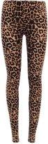 Forever Girls Animal Leopard Print Stretchy Leggings