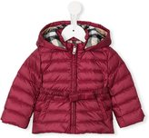 Burberry 'Janie' puffer jacket - kids - Feather Down/Polyester - 12 mth