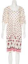 Tsumori Chisato Wool Printed Dress